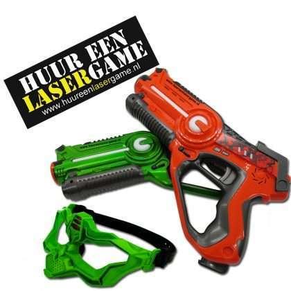 Lasergame huren eigen locatie