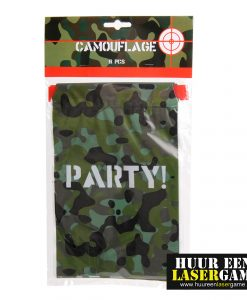 camouflage lasergame kinderfeestje
