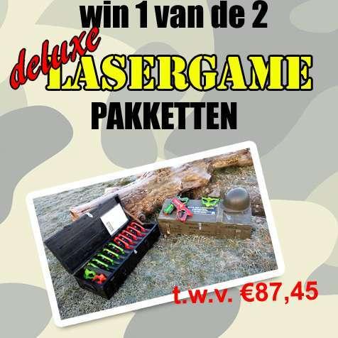 huur een lasergame winactie