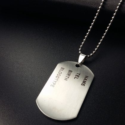 stoere militaire ketting