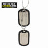 dubbele militaire ketting