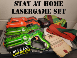 stay at home lasergameset