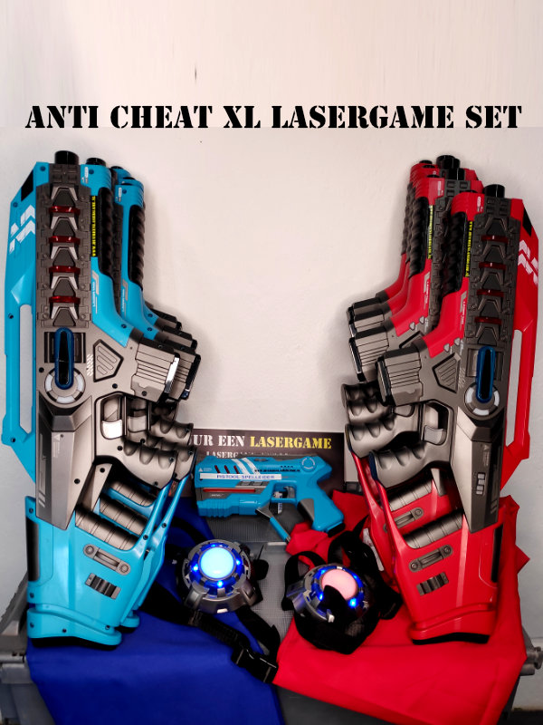 Lasergame set huren anti cheat